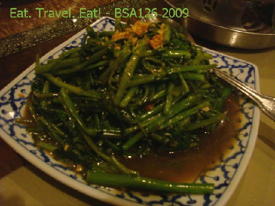 President Thai Restaurant: Ong Choy