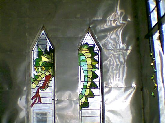 Ona, FL: Dragon window