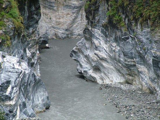 Hualien, Taiwan: インディアン岩(横顔)
