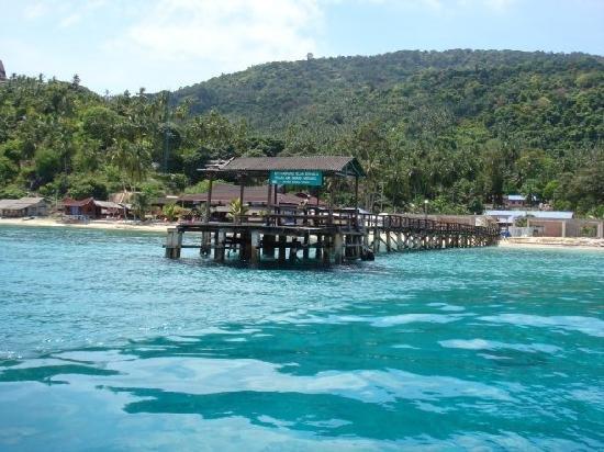 Pulau Aur, Malaysia: Turquoise water