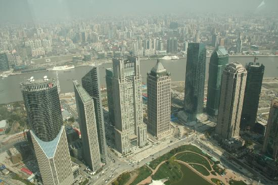 Grand Soluxe Zhongyou Hotel Shanghai: view Mao tower