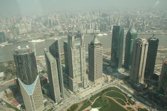 Grand Soluxe Zhongyou Hotel Shanghai: view Mao tower