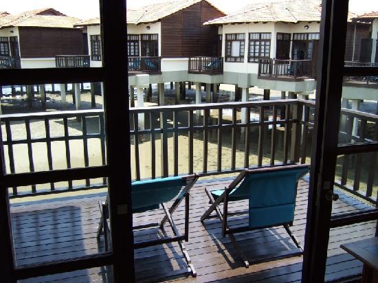 Avillion Port Dickson: The balcony view on the right