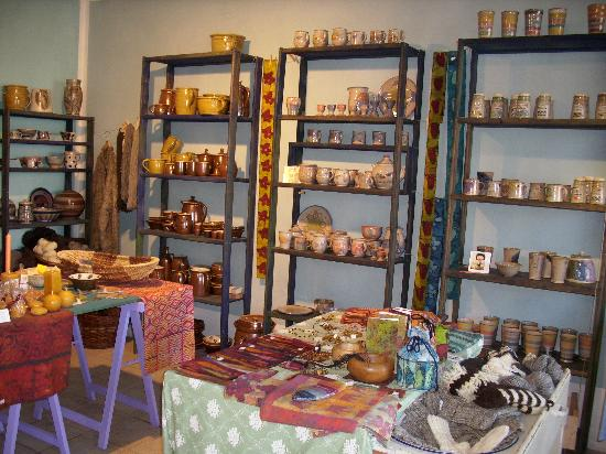 Gingst, Germany: Keramik in der Töpferei