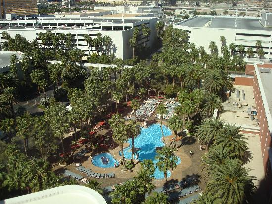 Swimming Pool View From Our Room Picture Of Treasure Island Ti Hotel Casino Las Vegas