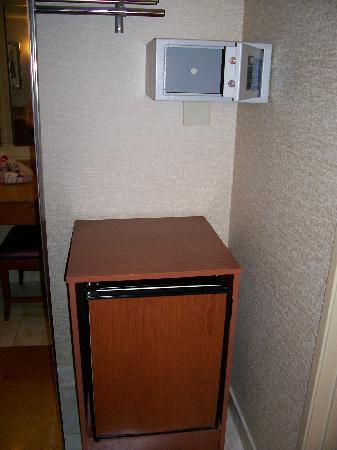fridge in closet Premium suite 1369