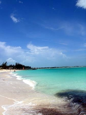 Turks og Caicos: A walk down the beach in Turks & Caicos