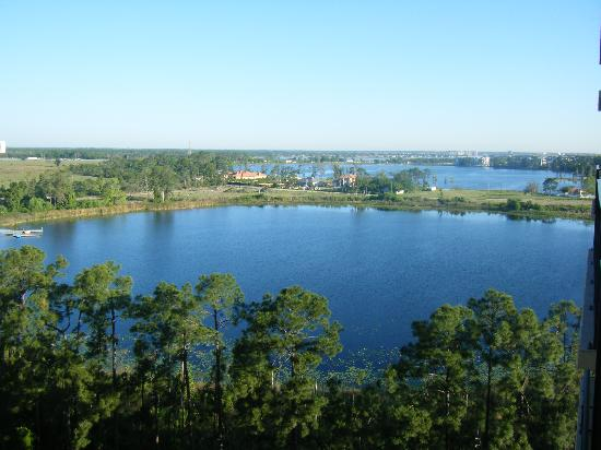Lake Eve Resort: View from the roomn
