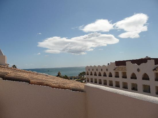 Hotel Mac Puerto Marina Benalmadena: Blick von der Dachterrasse der Juniorsuite