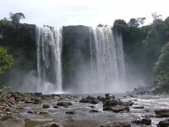 La Gran Sabana: Salto.Kama Meru