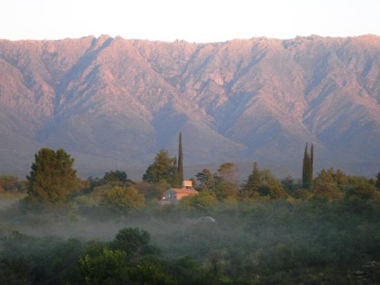 Cabanas Casas del Arroyo: Vista desde las cabañas