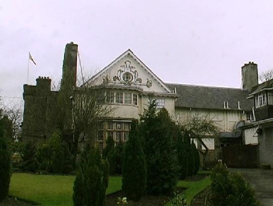 Dalmeny Park Country House Hotel: side view