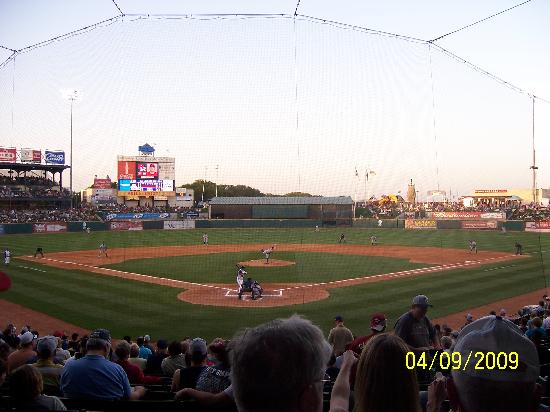Round Rock Express : View from behind home plate