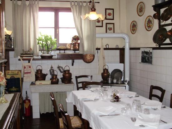 Corte dell'Oca: Il ristorante