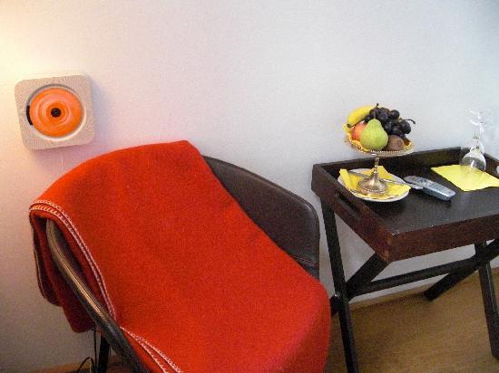 Hollmann Beletage : lecteur cd dans la chambre