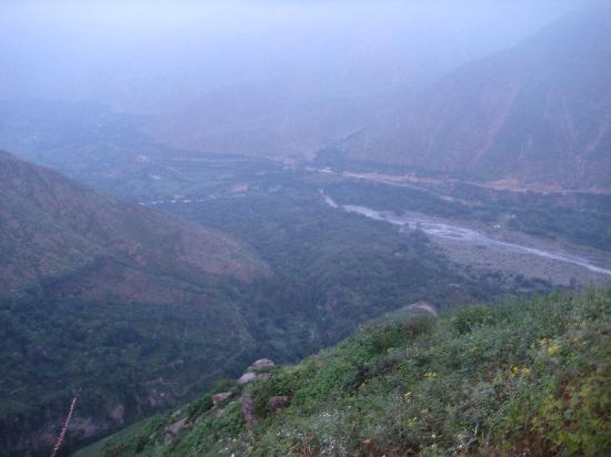 Matucana, Peru: antes del amanecer