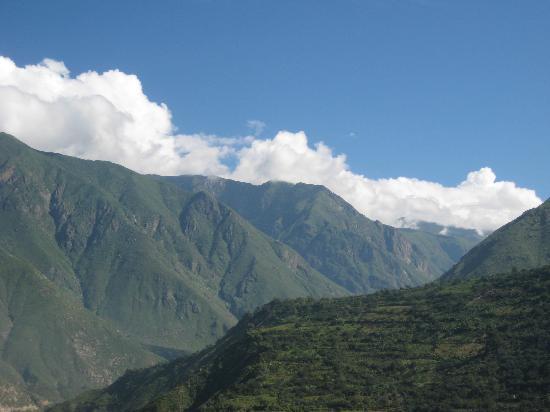 Matucana, Peru: en esta época del año hay mucha vegetación