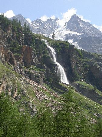 Hotel La Barme: Vers les glaciers du Grand Paradis