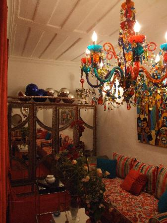 Dar Del Mare: Un petit salon du Dar