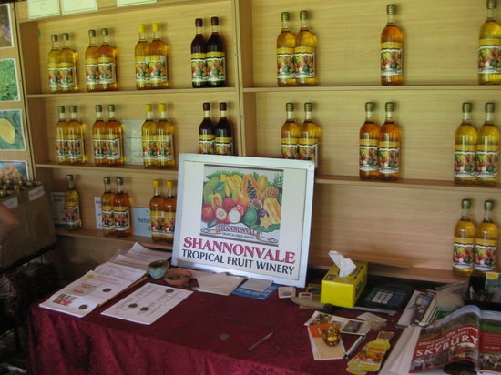 Shannonvale Tropical Fruit Winery: Shannonvale Winery