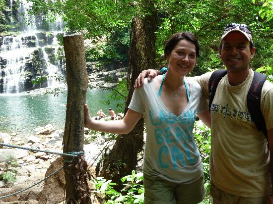 Waterfall Villas: hiking tour with Franco