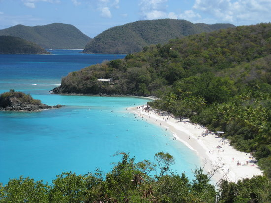 Trunk Bay: picture perfect