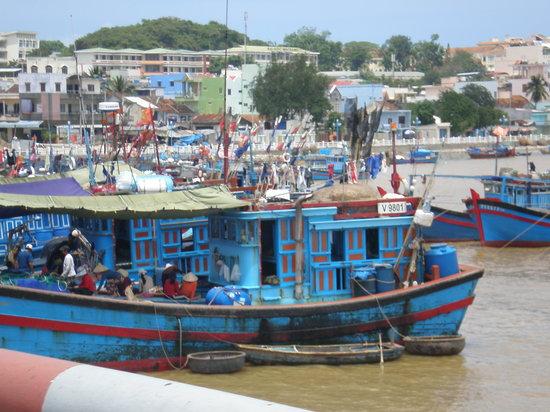 Nha Trang, Vietnam: Barcos- vivienda