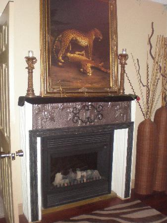 1884 Wildwood Bed and Breakfast Inn: Fireplace in the Bedroom
