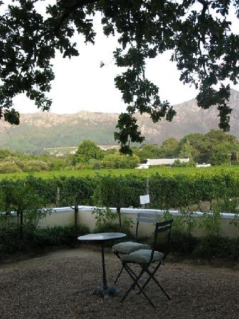 Auberge Clermont: table for two with a view!