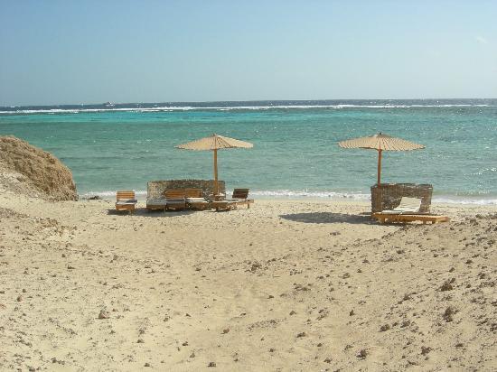Three Corners Fayrouz Plaza Beach Resort: petite plage très prisée