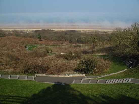Monumento y Cementerio Estadounidense de Normandía: Omaha Beach