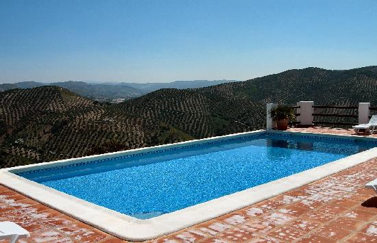 Cortijo La Loma: the pool
