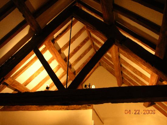 Coughton Lodge Guest House: view from my pillow