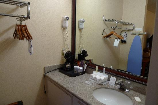 Coastside Inn: Sink area in the room