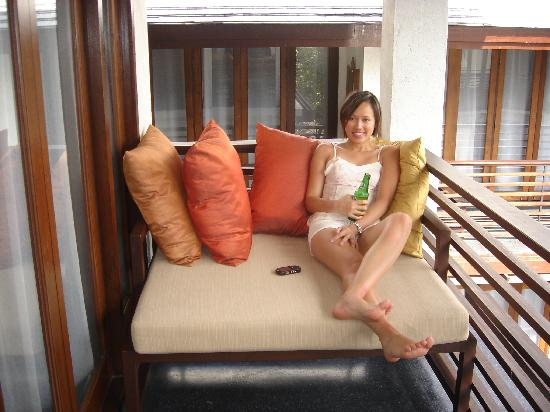 U Chiang Mai: Our Room's Balcony