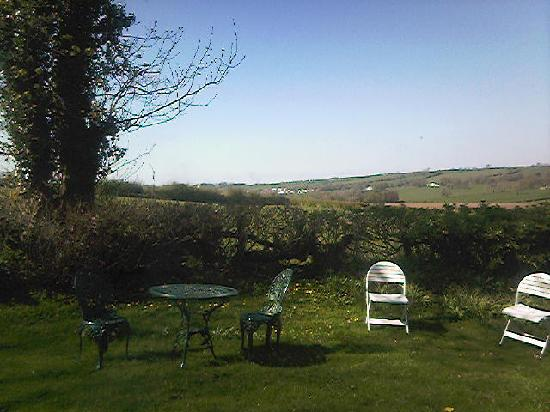Woodlands Country House: Garden view from cottage