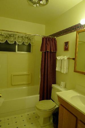 Alpenrose Inn: The bathroom