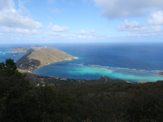 Top of Virgin Gorda