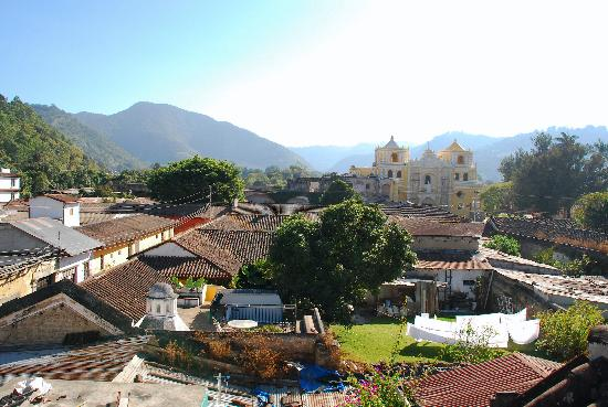 Hotel Casa Cristina: View from terrace