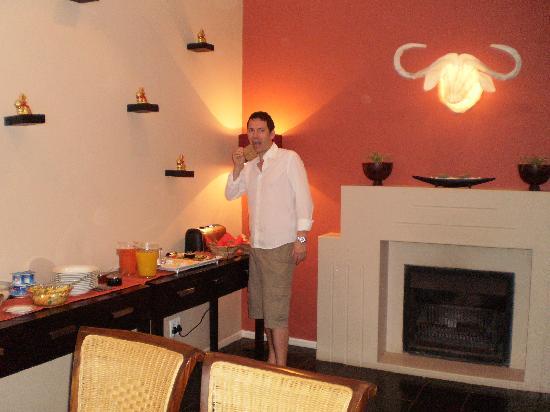 Cactusberry Lodge: Der Frühstücksraum