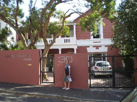Cactusberry Lodge: Vor dem Haus