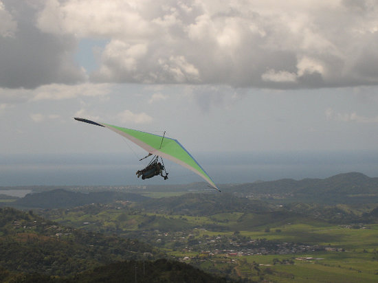 Punta Santiago, Puerto Rico: And more flying
