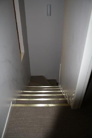 Quality Inn City Centre : Stairs to ground level