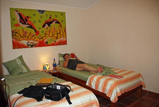 El Sol Verde Lodge & Campground: Our bedroom