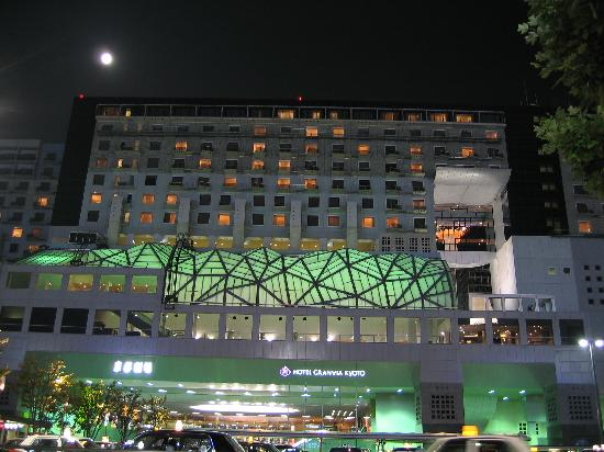 Hotel Granvia Kyoto: Night view