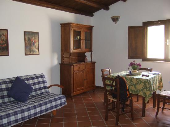 The kitchen/dayroom