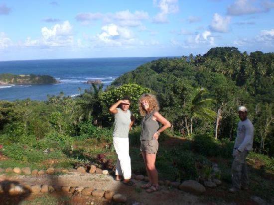 Bay View Lodges: What a backdrop