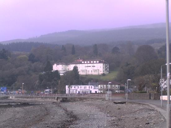 Glenmorag hotel from a distance