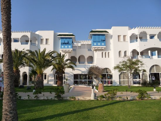 Club Med Hammamet: L'architecture du club