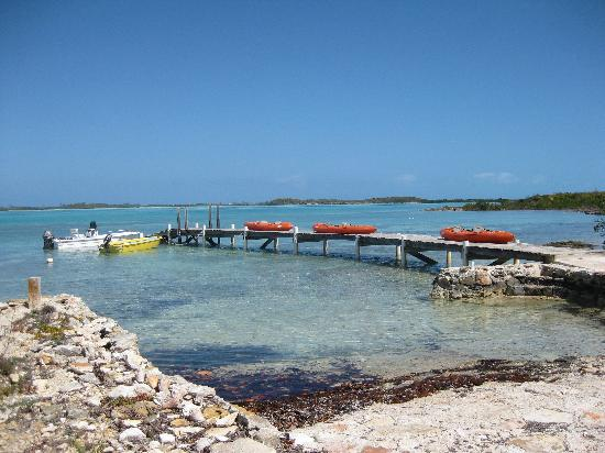 Exuma Vacation Cottages: Val's Dock